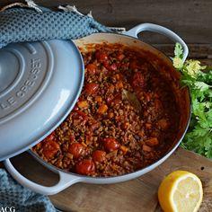 Marokkansk lammegryte | ENEstående Mat | Bloglovin' Ras El Hanout, Frisk, I Love Food, Chili, Nom Nom, Food Porn, Food And Drink, Soup, Snacks