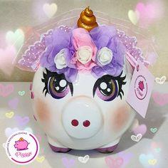 Piggy Banks, Sarah Kay, Pigs, Arts And Crafts, Homemade, Instagram, Creative Crafts, Ceramic Art, Pintura