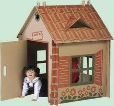 casa in cartone per bambini - Cerca con Google