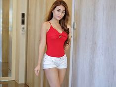 Filipino Models, White Shorts, Bodysuit, Actresses, Actors, Hot, Sexy, Girl Smile, Beauty