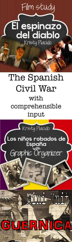 Kristy Placido has created a variety of resources for your intermediate students to learn about the Spanish Civil War via comprehensible input! Perfect to accompany the Fluency Matters reader La hija del sastre by Carrie Toth!