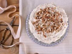 Torta de café y nueces