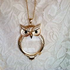 owl necklace- For Laura