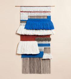 Weavings by Mimi Jung of Brook.