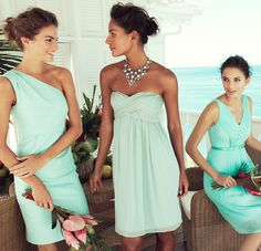 Fresh Paradise: J.Crew. Not loving the one all the way to the right but the other two dresses are cute!