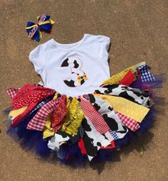Hey, I found this really awesome Etsy listing at https://www.etsy.com/listing/223067255/inspired-by-toy-story-tutu-outfit