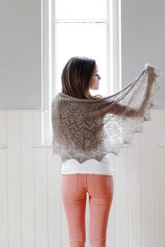 Prairie Shawl Knitting Pattern - PDF
