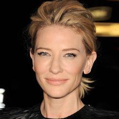 Cate Blanchett  love her simple makeup...beautiful!