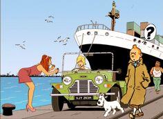 Mini Moke Pin Up Illustration, Mini S, Automotive Art, Commercial Vehicle, Classic Mini, Car Stuff, Comic Art, Cartoons, Cars