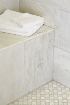 Tile, bench seat | master bath