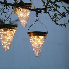 Outdoor Tree Lighting, Outdoor Hanging Lights, Outdoor Chandelier, Backyard Lighting, Hanging Lanterns, Chandelier Lighting, Hanging Tree Lights, Solar Lanterns, Event Lighting