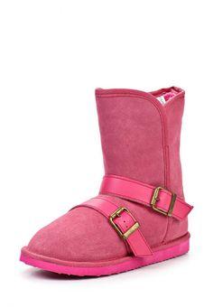 Угги Lol&Pop Цвет: розовый. Материал: спилок. Сезон: Осень-зима 2013/2014. С бесплатной доставкой и примеркой на Lamoda. http://j.mp/1pDf547