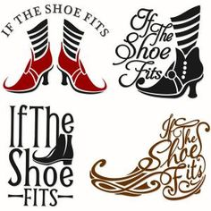 Quote If the Shoe Fits Cuttable Design Cut File. Silhouette Curio, Silhouette Cameo Projects, Silhouette Design, Halloween Vinyl, Halloween Silhouettes, Halloween Stencils, Halloween Ideas, Vinyl Crafts, Vinyl Projects