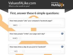 How to Calculate the Value of Your Social Media Followers [CALCULATOR]    Read more: http://blog.hubspot.com/blog/tabid/6307/bid/33871/How-to-Calculate-the-Value-of-Your-Social-Media-Followers-CALCULATOR.aspx#ixzz2DMciU6pG