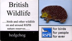 RSPB PIN BADGES British Wildlife, Some People Say, Pin Badges, Accessories