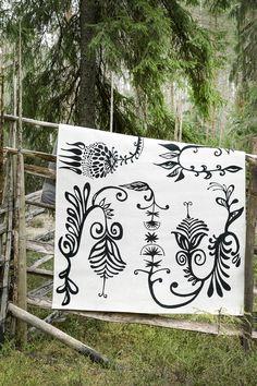 Aino rug by Matleena Issakainen