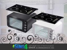 SIMcredible!'s Nuance Cooktop and oven (stove)
