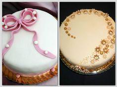 A fondan máz elkészítéséhez ismernünk kell a cukorfőzés rejtelmeit. A cukorfőzéssel kapcsolatos általános ismereteket itt gyűjtöttük össze. Fél kg cukrot 2 dl vízzel és 1 kávéskanálnyi ecettel IV. sűrűségi fokig főzünk (Cukorfőz... Amazing Food Decoration, Kaja, Nutella, Cake Decorating, Birthday Cake, Cookies, Recipes, Candy, Birthday Cakes