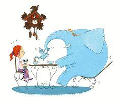 Ask an elephant to tea