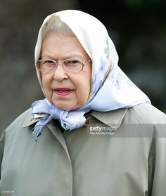 Queen Elizabeth II Attends Day 3 Of The Royal Windsor Horse Show In Home Park On