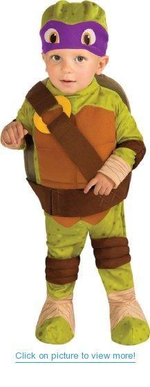 Teenage Mutant Ninja Turtle - Donatello Toddler Costume #Teenage #Mutant #Ninja #Turtle #Donatello #Toddler #Costume