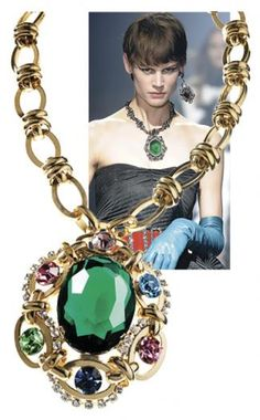 This R.J. Graziano necklace is so Lanvin-like (but for less!) #runway