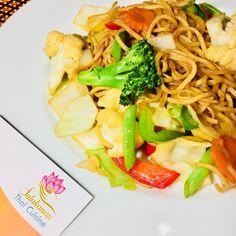 nudeln SALAKANAN thai restaurant Offenburg Thai Restaurant, Pasta Salad, Ethnic Recipes, Food, Home Made, Foods, Crab Pasta Salad, Essen, Meals