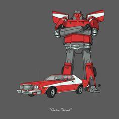 Carros de séries e filmes famosos em versão Transformer (FOTOS)