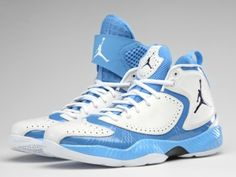 Hot off the presses (or some factory in China), the Tar Heels' Carolina blue colorway AJ2012s for the #NCAA Tournament. #UNC #MarchMadness