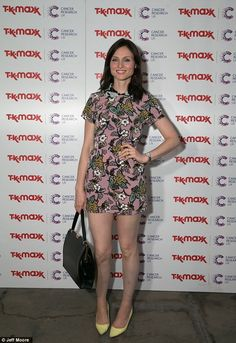 Sophie finished fourth in last year's Strictly Come Dancing when she showed off her toned ...