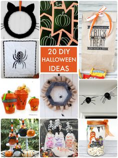20 DIY Halloween Ideas! So many great projects to try!