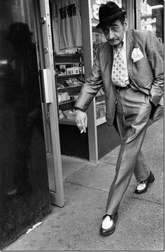 © Bruce Gilden - USA. New York City. 1986. Magnum Photos.