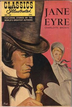 Classics-Illustrated-Comic-Book-39-Jane-Eyre-HRN-166-Edition-13-VERY-GOOD