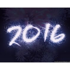 Happy New Year 2016 wallpaper ❤ liked on Polyvore featuring backgrounds, new years and pictures