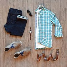 Mens Clothing Ideas – Stylish Mens Clothes That Any Guy Would Love Flannel Outfits, Casual Outfits, Mode Man, Casual Wear For Men, Outfit Grid, Mens Clothing Styles, Clothing Ideas, Men Style Tips, Gentleman Style
