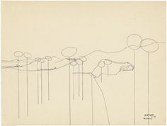 Gaston Bertrand : Paysage à Regencos 1954