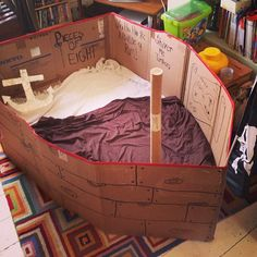 cardboard pirate ship - Google Search                                                                                                                                                      More