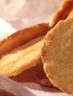 hekvanc: Mandulás-kukoricapelyhes reggeli keksz