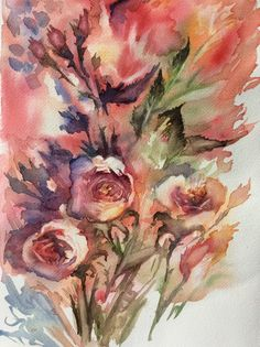 View For you ! ( Memories of summer) by Yuriy Ivashkevych. Discover more Paintings, Watercolour Paintings for sale. FREE Delivery and 14 Day Returns. Watercolor Paintings For Sale, Watercolor Plants, Watercolor Art, Original Art, Original Paintings, Summer Painting, Botanical Art, Impressionism, Flower Art