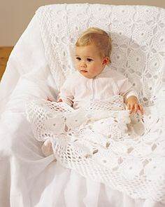 Crochet Lace Baby Blanket