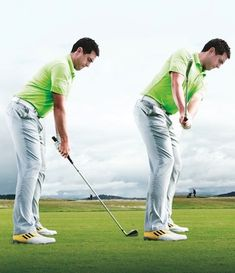 Golf Tips Swings The golf swing takeaway is a vital part of the golf swing because it starts a chain reaction of the whole golf swing. Get it wrong and it's difficult to recover from. Learn a simple make to make a great golf swing takeaway every time. Golf 6, Play Golf, Mens Golf, Golf Swing Takeaway, Golf Putting Tips, Golf Drivers, Golf Instruction, Golf Tips For Beginners, Perfect Golf