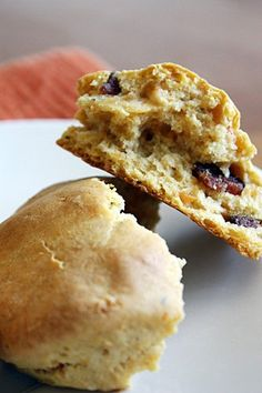 Sweet Potato and Bacon Biscuits Recipe