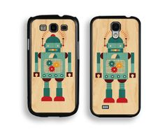 #Robot Samsung Galaxy Case