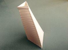 Twisted Triangle Vase by Zebra404.