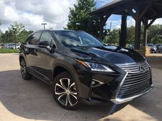 Love this color!  Caviar Mica on the 2016 Lexus RX 350.