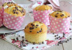 Muffin 8 cucchiai senza bilancia e senza fruste Frittata, Nutella, Sweet Recipes, Muffins, Recipies, Cheesecake, Food Porn, Food And Drink, Pudding
