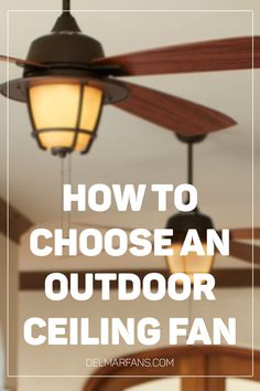 Outdoor vs Indoor Ceiling Fans: A Where to Use Guide | Del Mar Fans & Lighting Blog