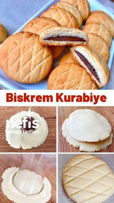 Desert Recipes, Gourmet Recipes, Cookie Recipes, Twix Cheesecake Recipe, Bread Shaping, Breakfast Tea, Sweet Pastries, Desserts To Make, Turkish Recipes