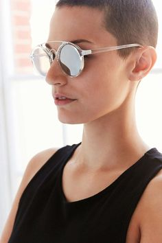 Jetway Brow Bar Frame Sunglasses