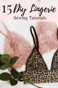 Zu diesem Beitrag 15 DIY Lingerie, Bras, and Panties to Try in 2019 Sie stöbern. 15 DIY Lingerie, Bras, and Panties to Try in 2019 … Easy Sewing Projects, Sewing Projects For Beginners, Sewing Hacks, Sewing Tips, Upcycling Projects, Sewing Ideas, Diy Clothes Projects, Dress Sewing Tutorials, Lingerie Couture